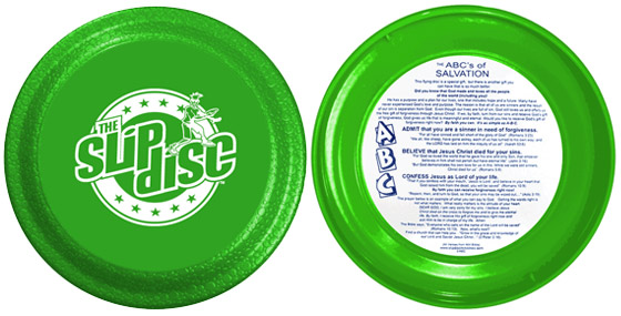 ABCs of Salvation Slip Disc