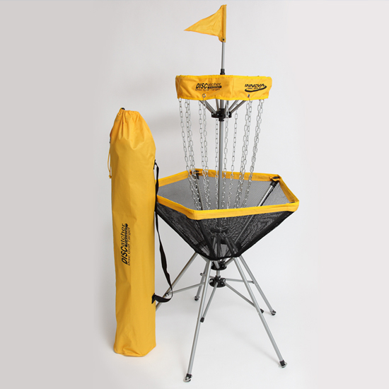 The Traveler Portable Disc Golf Target