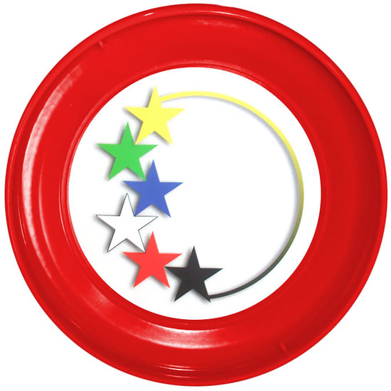 Colored Stars Witness Slip Disc (Front)