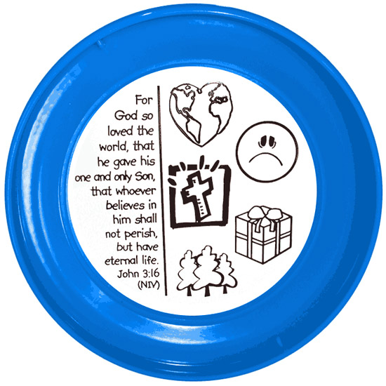 Color-Me Children's Slip Disc (Back)