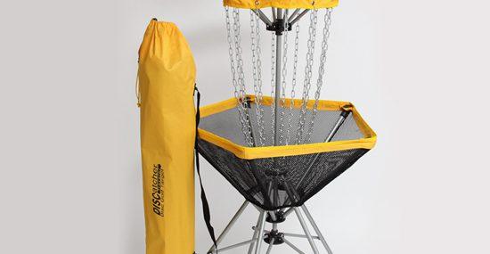 The Traveler Portable Disc Golf Target